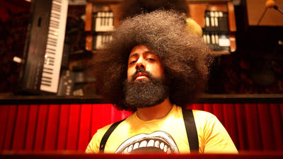 Will the real Reggie Watts please not stand up?