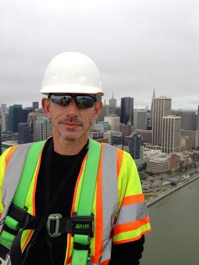 Twitter founder Jack Dorsey takes Vine to new heights atop bridge