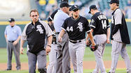 SEATTLE — The chances of the White Sox returning to American League Central contention suffered a blow Tuesday night when Jake Peavy left after only 21/3 innings because of rib pain on his left side.