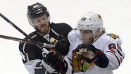 LOS ANGELES — In a Blackhawks dressing room late Tuesday night at the Staples Center after their 3-1 loss to the Kings in Game 3 of the Western Conference finals, the truth hurt worse than the shot Niklas Hjalmarsson took to the knee that felled the defenseman.