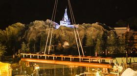 Disney's Seven Dwarfs Mine Train at New Fantasyland reaches construction milestone