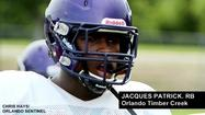 "<span style=""font-size: small;"">Timber Creek's junior running back Jacques Patrick is one of only 27 underclassmen who will be in Chicago this weekend when 100 top-tier college football prospects descend on Soldier Field for Under Armour's answer to Nike's The Opening.</span>"
