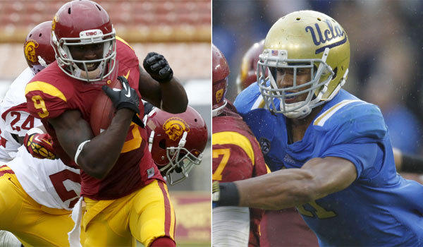 USC receiver Marqise Lee and UCLA linebacker Anthony Barr were named to Phil Steele's preseason All-Amercan first team.