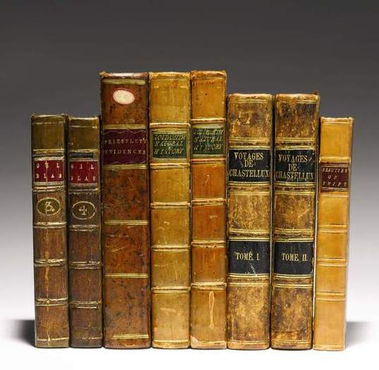 Books from George Washington's library