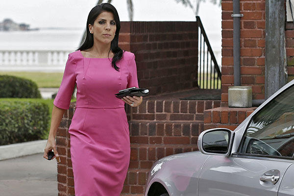 Jill Kelley outside her home in Tampa, Fla., last November.