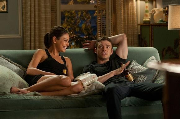 "Mila Kunis and Justin Timberlake in ""Friends With Benefits"": ridiculously good-looking"