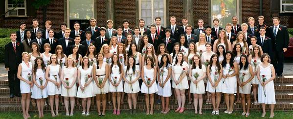 Moravian Academy Class of 2013.