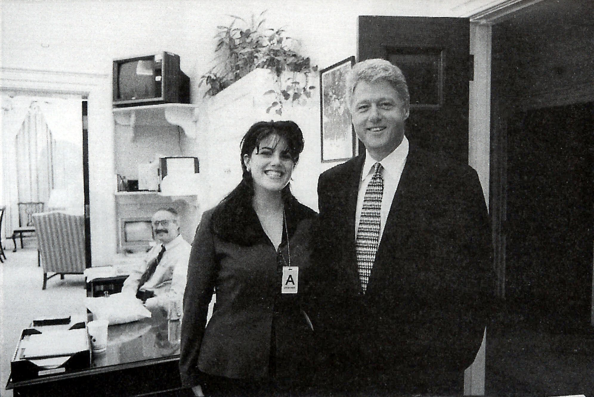 Bill Clinton and Monica Lewinsky and Gennifer Flowers and Paula Jones LA