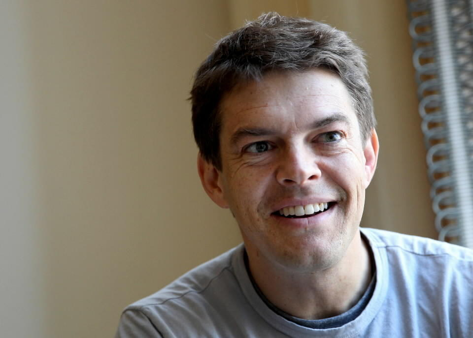 """Jason Blum, producer of the new horror film """"The Purge,"""" at the Peninsula Hotel in Chicago."""