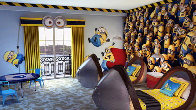 Despicable Me Minions come to Universal Orlando hotel