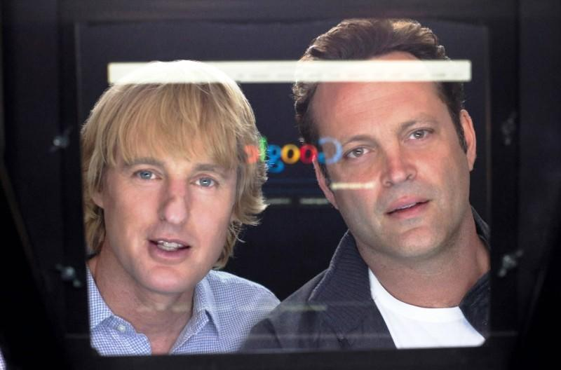 "Owen Wilson and Vince Vaughn star in ""The Internship."""