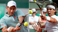 Rafael Nadal, Novak Djokovic win, set up a marquee semifinal