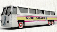 The Tommy Hilfiger brand is hitting the SoCal roads this summer to promote its new Surf Shack collection of beachy keen clothes.