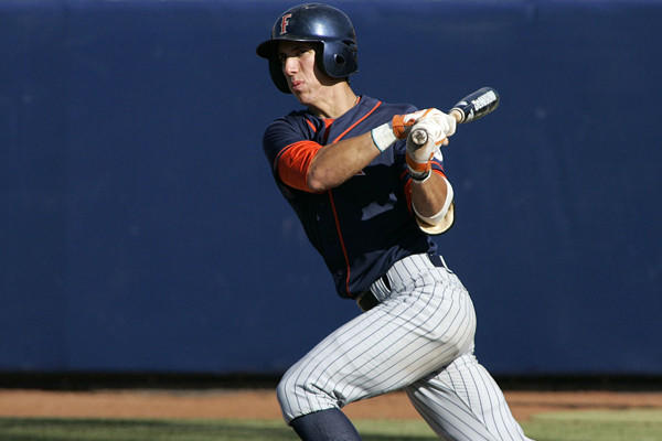 Cal State Fullerton outfielder Michael Lorenzen is among a number of prospects who have been linked to the Orioles in recent mock drafts.