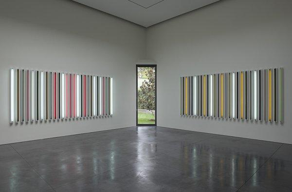 A view of Robert Irwin's installation at L&M Arts Los Angeles, which has just announced it is closing up shop.