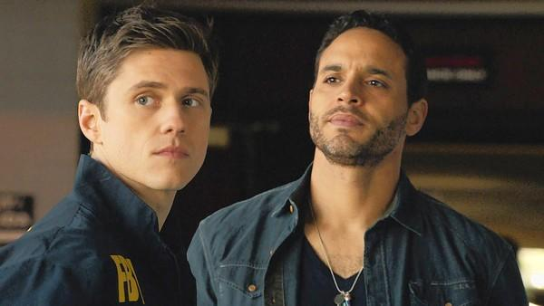 "Aaron Tveit and Daniel Sunjata star in ""Graceland."""