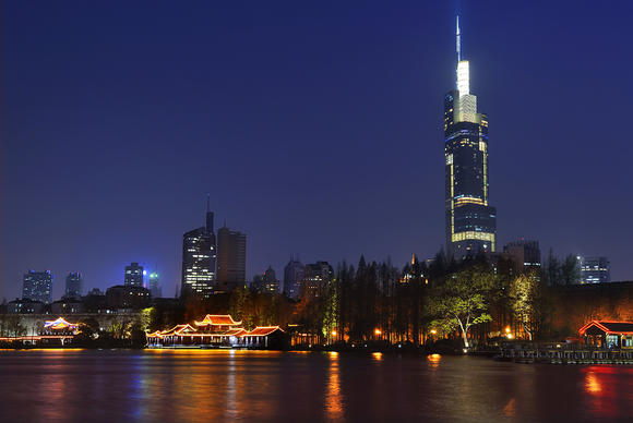 The past is never far from the present in Nanjing, China, a Yangtze River city that was the capital of six imperial dynasties. Zifeng Tower, rising 89 floors, keeps watch.