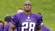 EDEN PRAIRIE, Minn. -- Those wondering why so many athletes don't say anything but vanilla cliches during interviews should take note of what Vikings running back Adrian Peterson has gone through in recent weeks.