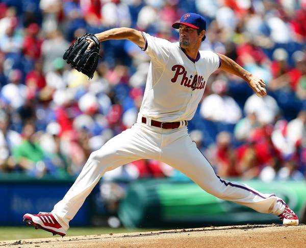 The Phillies' Cole Hamels picked up his second win of the season with a strong effort against the Marlins.