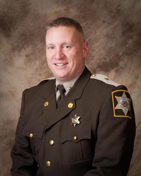 Garrett County Sheriff Robert Corley