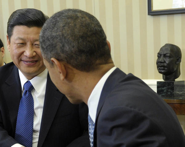 President Obama and Chinese President Xi Jinping will meet at week's end for an unusual two-day summit at a Southern California estate. Above: Obama and Jinping last met in 2012.
