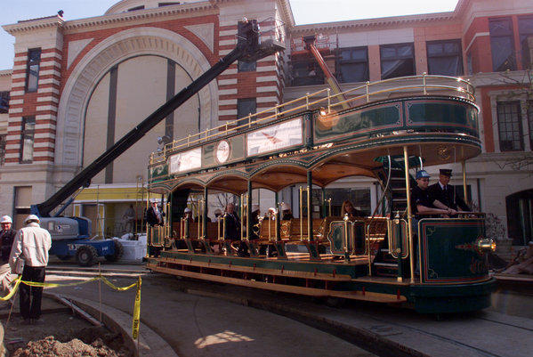 Developer Rick Caruso wants to extend the trolley at the Grove to the Beverly Center.