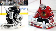 Kings' Jonathan Quick, Chicago's Corey Crawford have had their moments