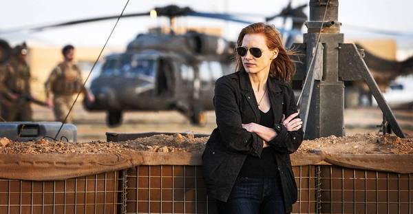"""Jessica Chastain stars in """"Zero Dark Thirty."""""""