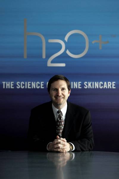 """It was time to take a step back, re-evaluate the brand and refine the H2O Plus image,"" said H2O Plus CEO Rick Ruffolo."