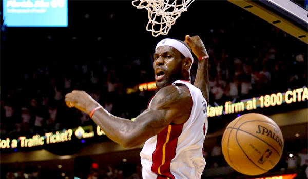 LeBron James seeks a second NBA championship with the Miami Heat.