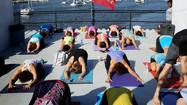 Class of the month: Boat yoga