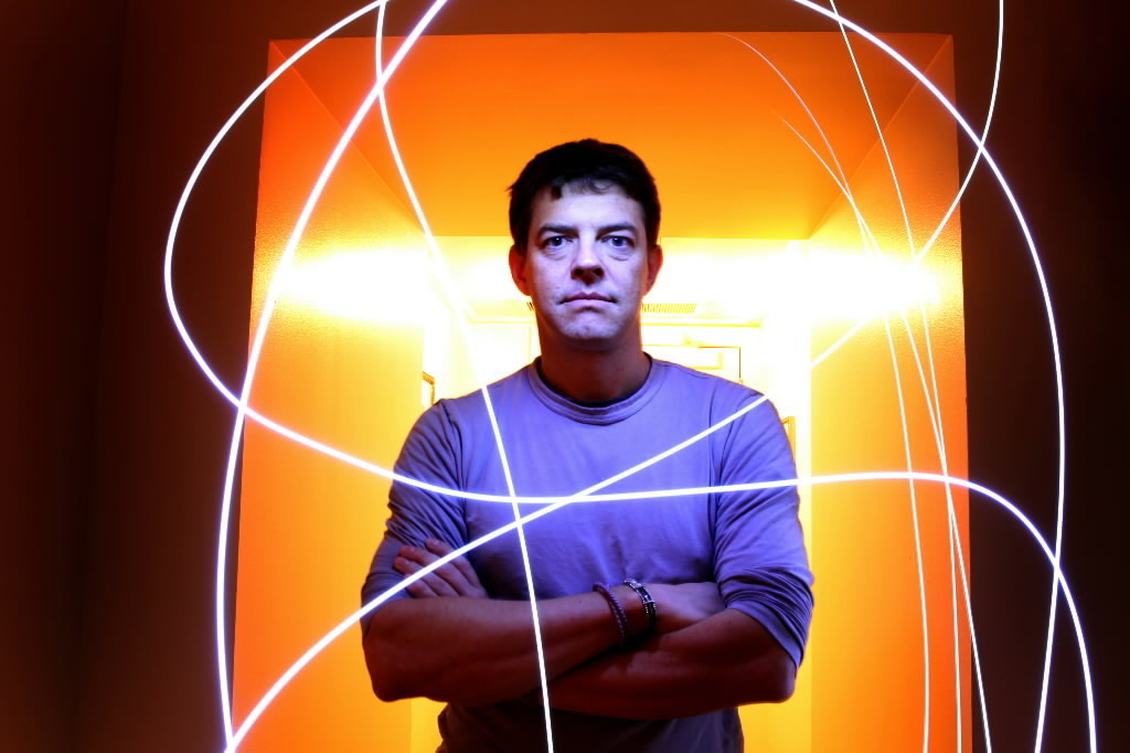 """Jason Blum, producer of the new horror film """"The Purge"""", stands for a portrait in his Peninsula Hotel room in Chicago."""