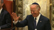 Vice President Biden honors Lautenberg with humor at funeral
