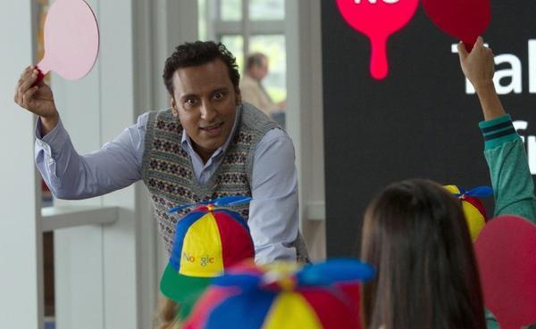 "Aasif Mandvi in ""The Internship."""