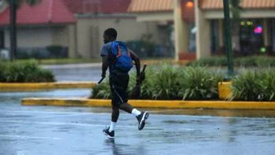 <b>Raw Video:</b> Tropical Storm Andrea snarls traffic on Central Florida's roadways with heavy rain