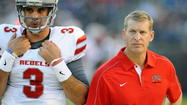 UNLV's Bobby Hauck is a college football coach on the hot seat in 2013.