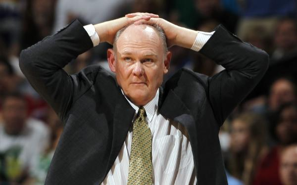 The Denver Nuggets fired coach George Karl on Thursday.