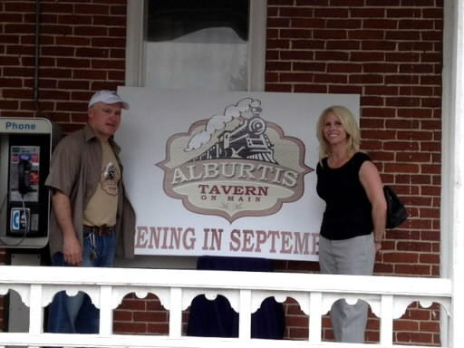 Terry and Hope Bender, owners of The Buckeye Tavern in Macungie, are turning the former Iron Horse Restaurant in Alburtis into Alburtis Tavern on Main. It is scheduled to reopen in September