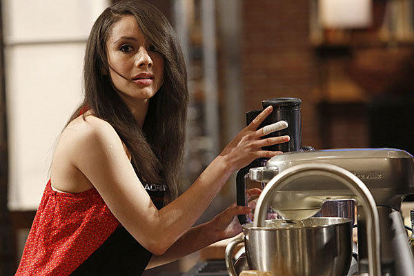 "Adriana was eliminated this week on ""MasterChef,"" undone by canned guava."