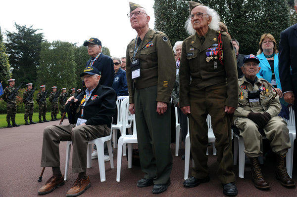 FRANCE-US-HISTORY-WWII-COMMEMORATION