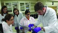 Oakton Community College recently received a grant to introduce community college and high school students to the emerging field of nanotechnology.