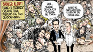 """Game of Thrones"" by David Horsey"