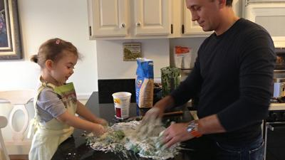 Kids' Cooking Club Week 2: Easy Spinach Ricotta Gnocchi
