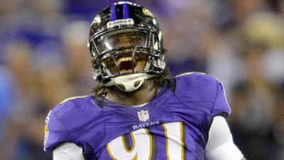 Harbaugh says Upshaw's eating habits have to improve