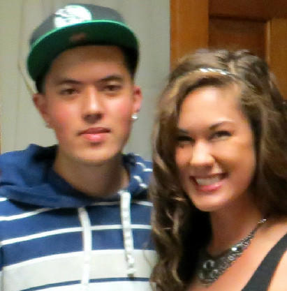 Colin Nutter with his sister Sara Nutter in a photo provided by Sara. His body was found in north suburban Wilmette.