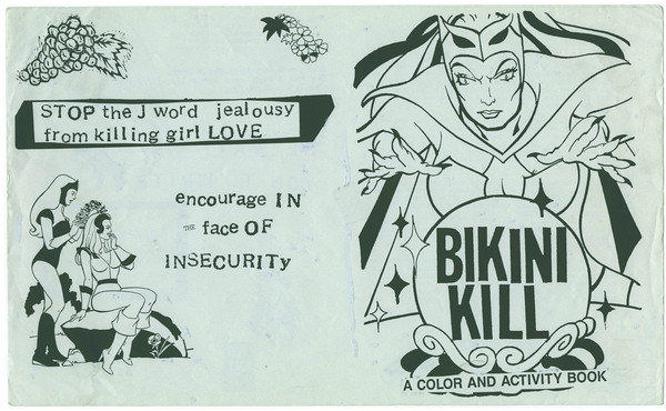 "Image from the book ""The Riot Grrrl Collection."""