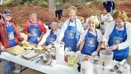 The Kiwanis Club of La Cañada AM presented another French Toast Breakfast to the community on Memorial Day weekend, in conjunction with the Fiesta Days celebration sponsored by the La Cañada Flintridge Chamber of Commerce and Community Association. The breakfast's chairman was Rosemary Hook.