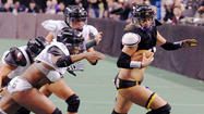During the week, one is a chemical engineer. One is a nutritional consultant. Another is a police sergeant in Baltimore City. But on weekends, they play for the Baltimore Charm of the Legends Football League (formerly the Lingerie Football League).