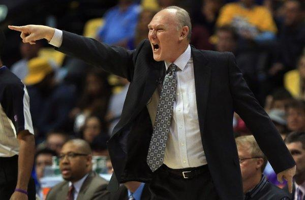 The Denver Nuggets fired George Karl.