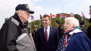 69th anniversary of the D-Day landing in Normandy